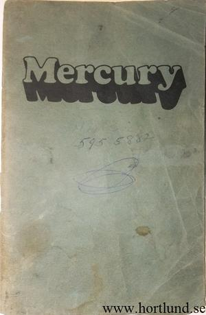 1974 Mercury Full Size Owners Manual