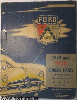 1949 - 1950 Ford car Chassis Parts Catalogue