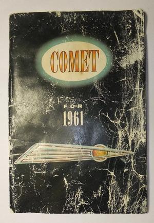 1961 Mercury Comet Owners Manual