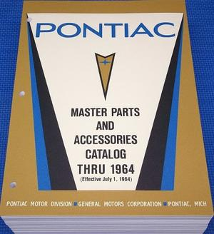 1964 Pontiac Master Parts Catalog 1960 - 1964