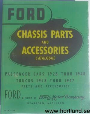 1928 - 1948 Ford Chassis Parts and Accessories Catalogue