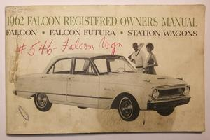 1962 Ford Falcon Owners Manual
