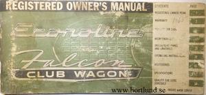 1965 Ford Van Owners Manual