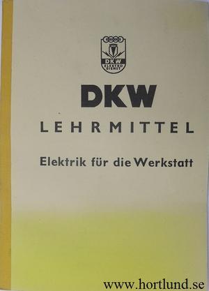 1937 - 1956 DKW el-lärobok