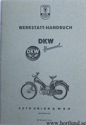 1956 DKW Hummel Verkstadshandbok