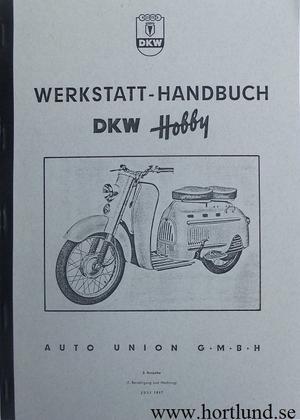 1957 DKW Hobby Verkstadshandbok