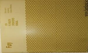 1974 Plymouth Fury Operator's Manual