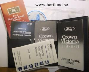 1990 Ford Crown Victoria Owner Guide
