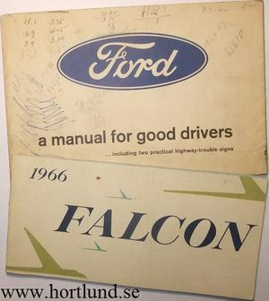 1966 Ford Falcon Owners Manual