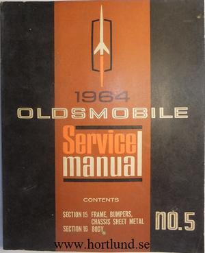 1964 Oldsmobile Service Manual no. 5
