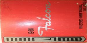 1966 Ford Falcon Owners Manual Kanada