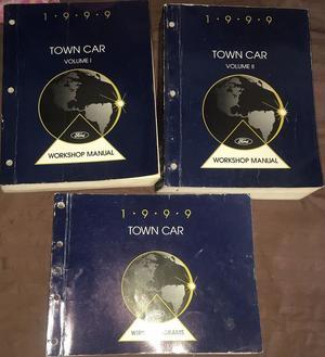 1999 Lincoln Town Car Workshop Manual set
