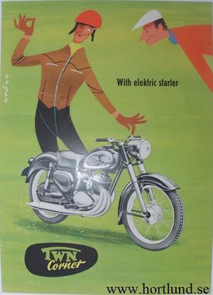 1957 TWN Cornet broschyr