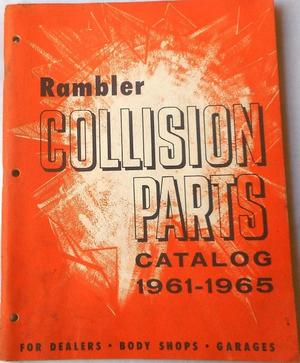 1961 - 1965 Rambler Collision Parts Catalog