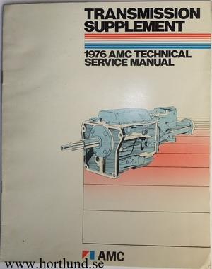 1976 AMC Technical Service Manual Transmission supplement