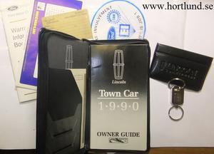 1990 Lincoln Mark VII Owner Guide
