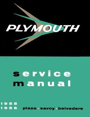 1956 Plymouth Service Manual