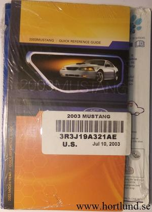 2003 Ford Mustang Owner´s Guide