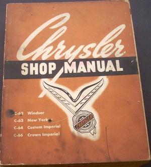 1954 Chrysler och Imperial Shop Manual