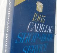 1965 Cadillac Shop and Body Manual
