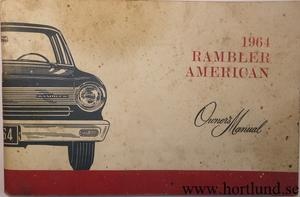 1964 Rambler American Owner's Manual