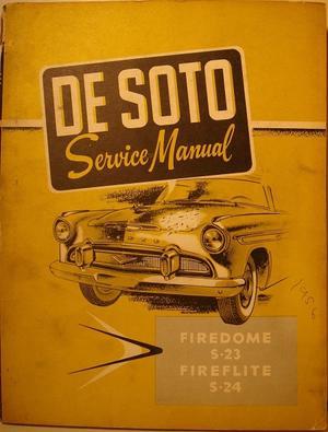 1956 De Soto Service Manual