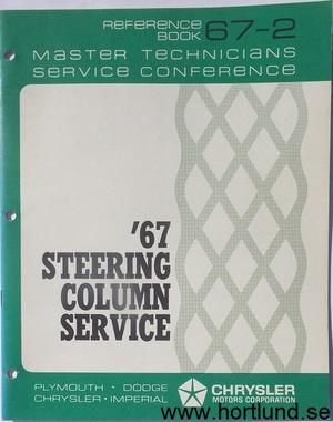 1967 Chrysler Corp. Master Technicians Service Conference Reference Book 67-2