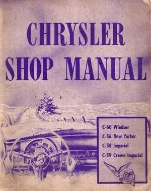 1953 Chrysler och Imperial Shop Manual