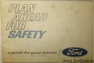 1967 Ford Plan Ahed for Safety