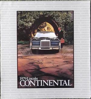 1979 Lincoln Continental Lyxbroschyr