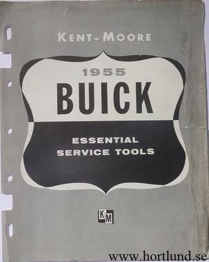 1955 Buick Essential Service Tools Kent-Moore