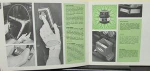 1968 AMC Accessories broschyr