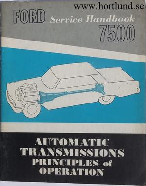 1963 Ford Service Handbook Automatic Transmissions
