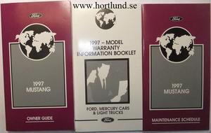 1997 Ford Mustang Owner Guide