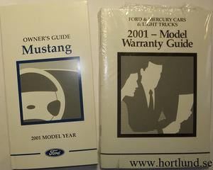 2001 Ford Mustang Owner´s Guide