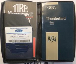 1994 Ford Thunderbird Owner Guide