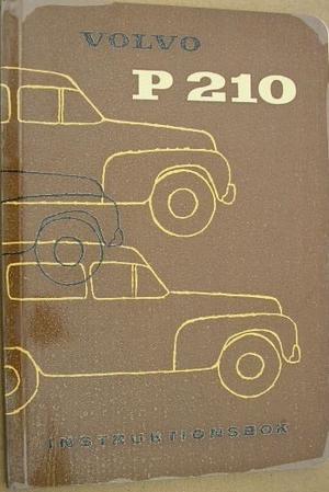1961 Volvo Duett P 210 A Instruktionsbok