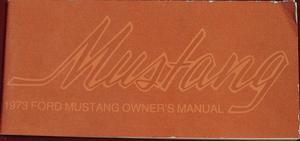 1973 Mustang Owner's Manual