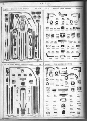 1935-1937 DKW Resrvdelskatalog