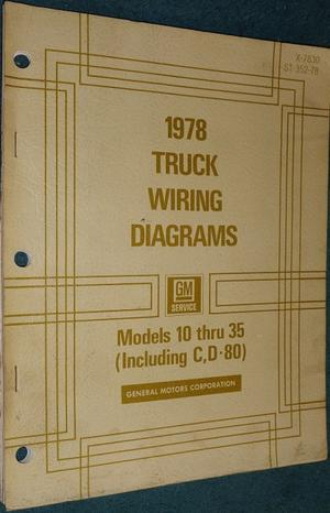 1978 GMC Truck Wiring Diagrams