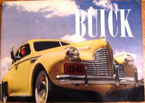 1940 Buck lyxbroschyr