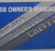 1968 Chevrolet Camaro Chevelle Chevy II Owners Manual