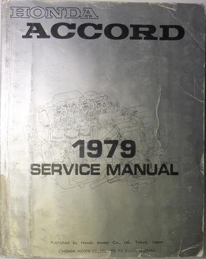 1979 Honda Accord Service Manual