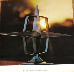 1967 Lincoln Prestige broschyr