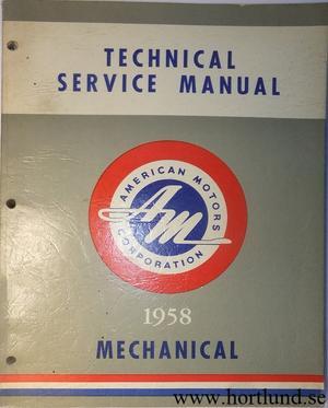 1958 Rambler Technical Service Manual Mechanical