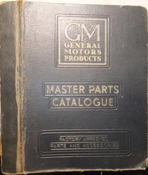1957 - 1946 Buick Master Parts Catalogue