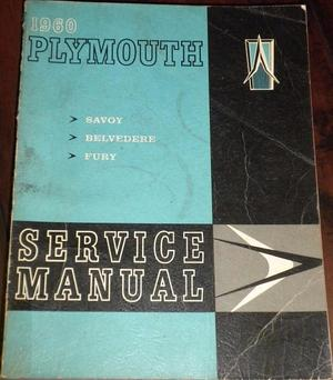 1960 Plymouth Service Manual