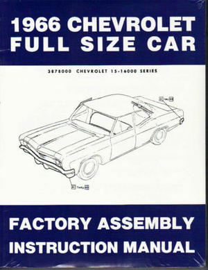 1966 Chevrolet Full Size Assembly Manual