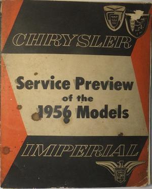 1956 Chrysler och Imperial Service Preview