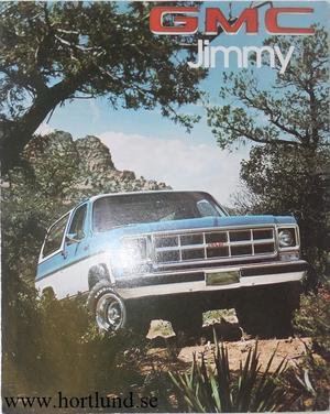 1978 GMC Jimmy Broschyr